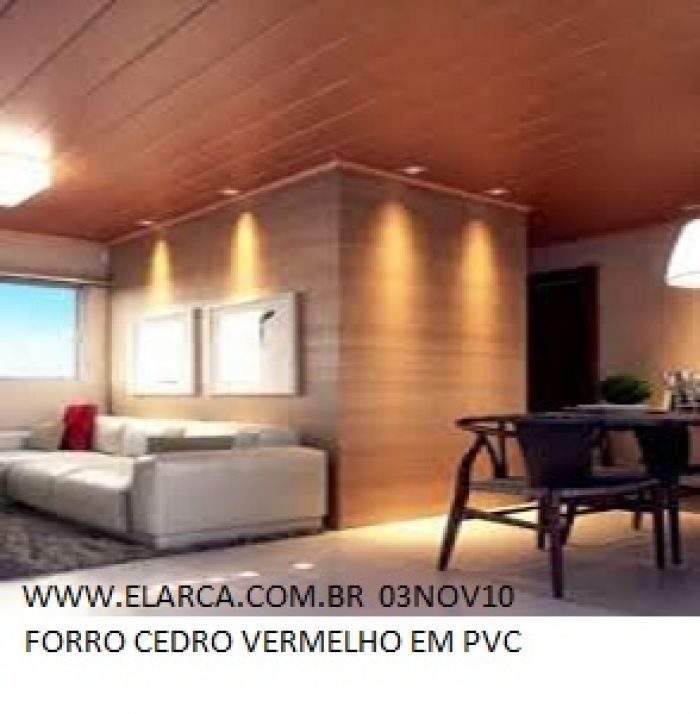 FORRO PVC AMADEIRADO CEDRO VERMELHO EXPORTAÇÃO - Entrega ...