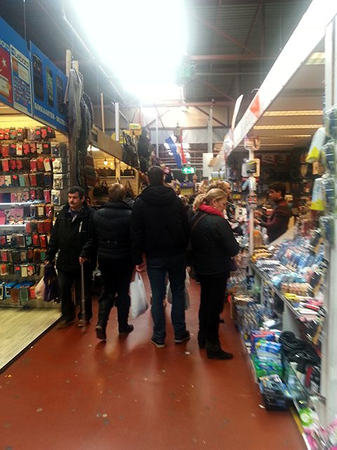 De Bazaar - Beverwijk, The Netherlands. The largest indoor market in Europe.