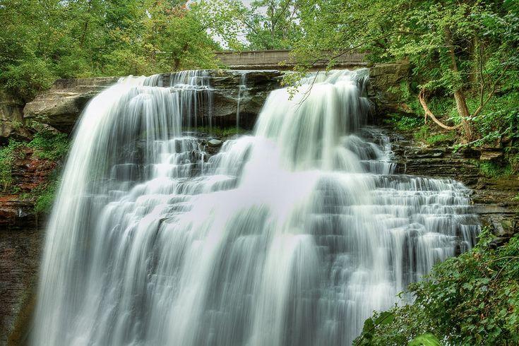 Ohio waterfalls brandywine falls ohio waterfalls