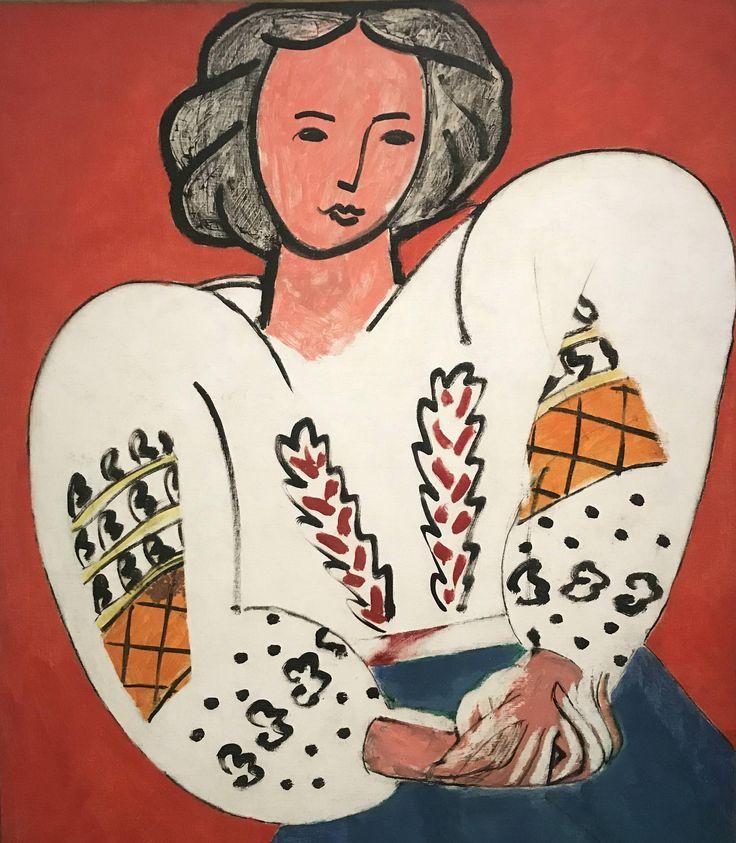 Henri Matisse -La Blouse Roumaine (1940)
