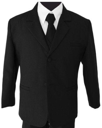 Boys Black Tuxedo Suit with Tie Young Boys Youth Size 10 Black n Bianco,http://www.amazon.com/dp/B00B6UG0EI/ref=cm_sw_r_pi_dp_pzb4sb18GP35VDTD $33.99