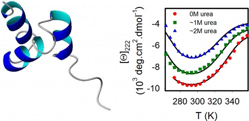Unusual Cold Denaturation of a Small Protein Domain 8/7/12 Biochemistry Article ASAP http://pubs.acs.org/doi/abs/10.1021/bi300916v