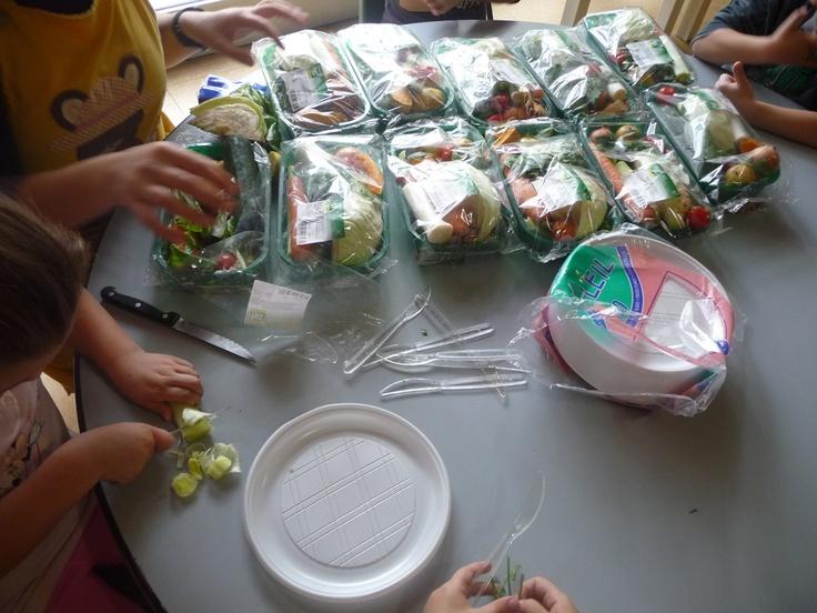 Laboratorio con le verdure Sipo