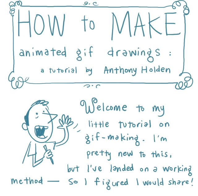 http://sketchadventure.blogspot.com/2012/06/how-to-make-animated-gifs-brief.html