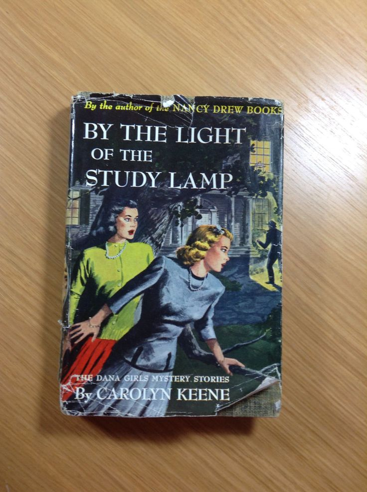 By The Light Of The Study Lamp Dana Girls With Dust Jacket! 1934 by HistoriesMysteriesCo on Etsy https://www.etsy.com/listing/520422149/by-the-light-of-the-study-lamp-dana