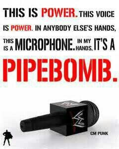 CM Punk pipebombs are the greatest