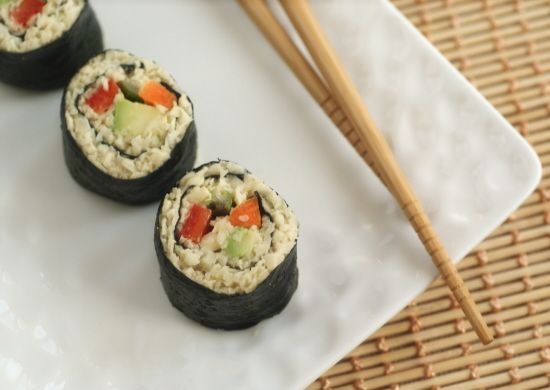 Anti-candida, sugar-free, gluten-free, grain-free, vegan Raw Parsnip Sushi Recipe | Diet, Dessert and Dogs