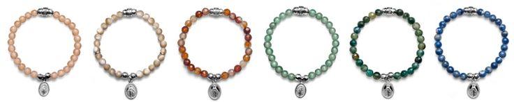 Maria Cristina Sterling New Collection MIRACOLOSA Scegli la tua pietra.  http://shop.mariacristinasterling.it/categoria-prodotto/donna/collezione_miracolosa/