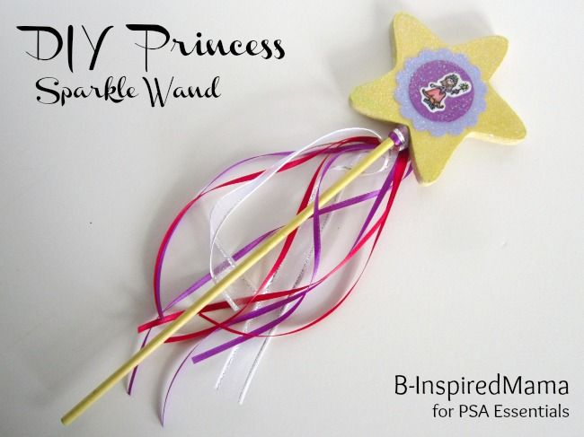 Create a Wand for Your Princess (B-InspiredMama.com)