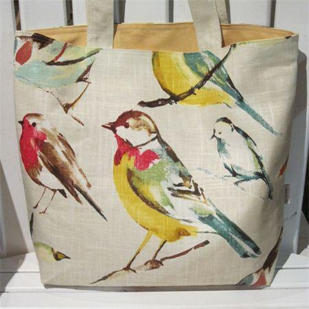 Summer Bird Tote