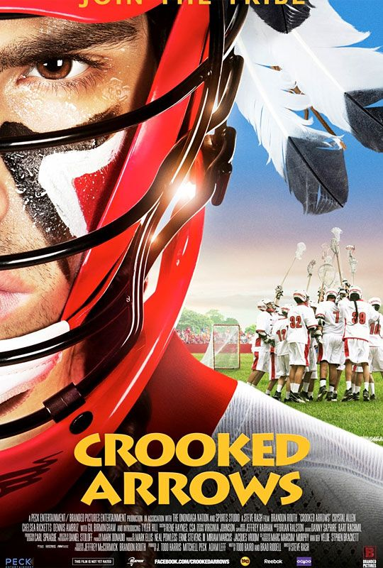 Crooked Arrows .. finally a Hollywood lacrosse movie!
