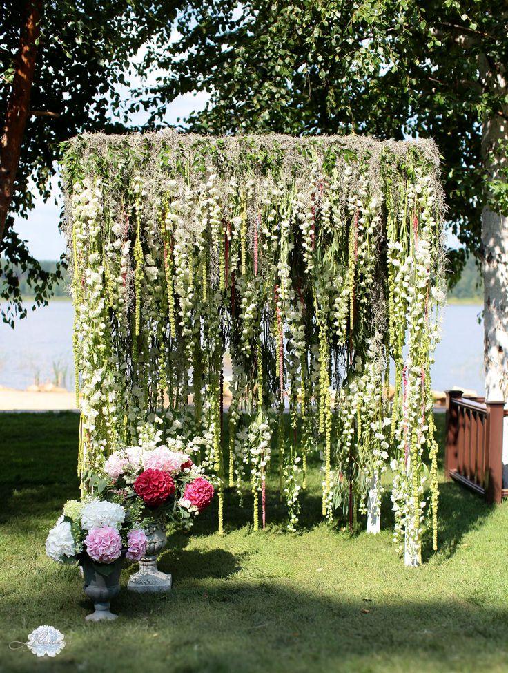 Свадебная флористика от студии L'flowers lflowersstudio.com Свадьба Кати и Вячеслава 8 августа 2014
