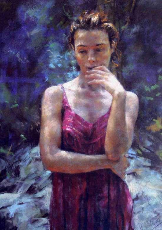 My Favorite Painting -- Pensativa by Vicente Romero