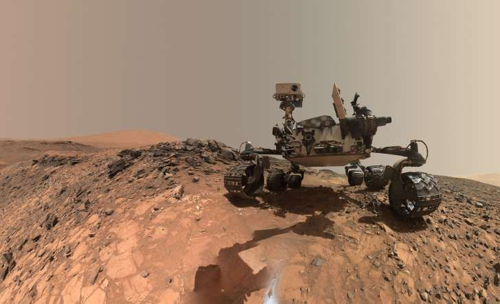 NASA's Curiosity Mars Rover Is Showing Its Age, But That's Not All Bad - A self-portrait of the Mars Curiosity rover from the Buckskin drill site.