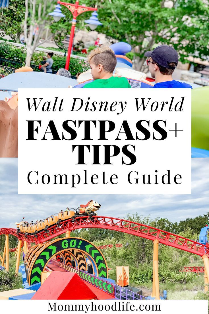 Book Fastpasses And Easily Use Them In Walt Disney World Parks In