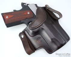 Banshee Leather IWB Holster by Wright Leather Works... I have a couple of these and can testify to them being the best holsters I've ever had.