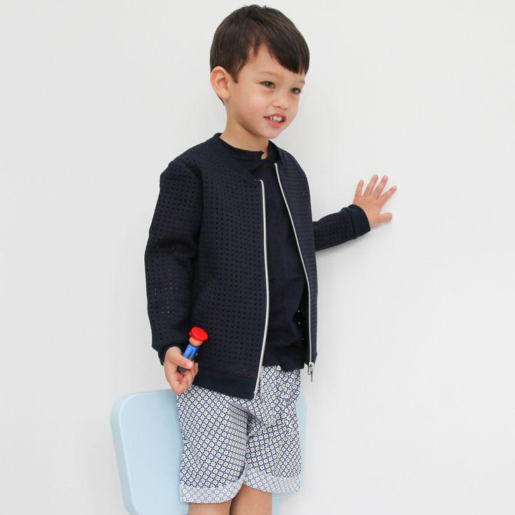 boys bermuda shorts mosaic