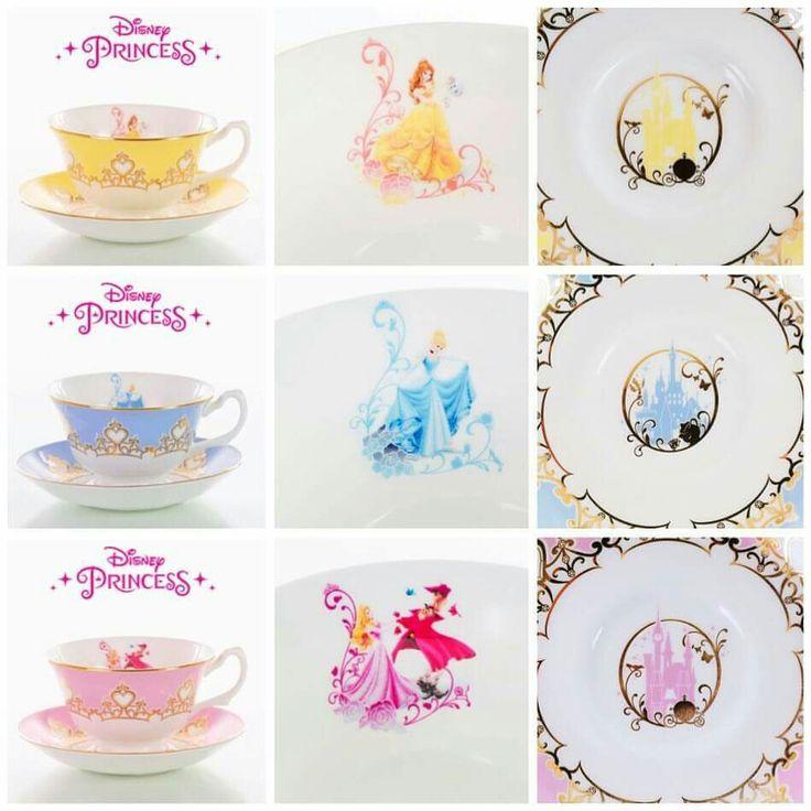 Disney Tea Sets Disney Magic In 2019 Disney Princess
