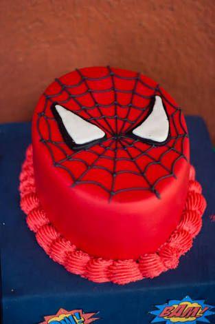 Resultado de imagen para pastel hombre araña
