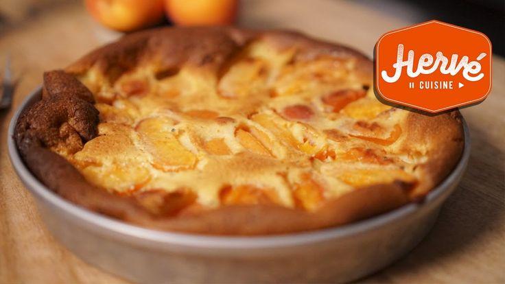 Clafoutis aux Abricots, la super recette facile de Maman !