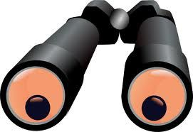Binoculars Race - A fun birthday party game in which each kid has to look through the wrong side of binoculars and walk along a straight line for maximum time.