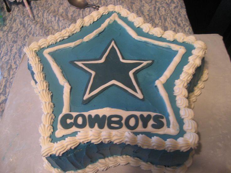 dallas cowboys themed cake
