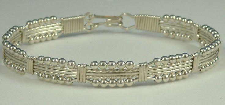 Precious Lace Wire Wrap Bracelet