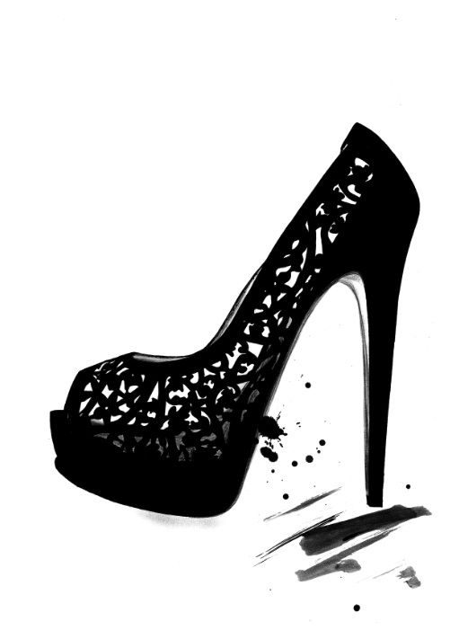 best 25 shoe illustration ideas on pinterest fashion
