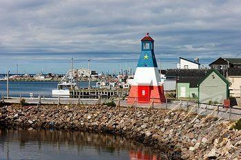 Cheticamp waterfront, Cape Breton, Nova Scotia, Canada
