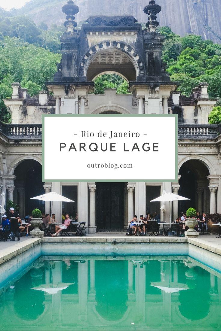 Parque Lage, Plage Café e as melhores atrações no Rio Janeiro.