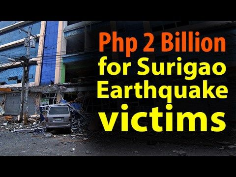 2 Billion Pesos for the Surigao Earthquake victim! ~Share - WATCH VIDEO HERE -> http://dutertenewstoday.com/2-billion-pesos-for-the-surigao-earthquake-victim-share/   2 Billion Pesos for the Surigao Earthquake victim! News video courtesy of The Storyteller YouTube channel  Disclaimer: The views and opinions expressed in this video are those of the YouTube Channel owners and do not necessarily reflect the opinion or position of the site owners/FB admins.