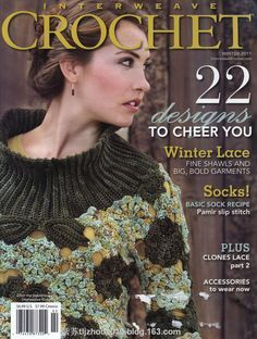 Interweave Crochet 22 2011--- 钩针专辑 - 紫苏 - 紫苏的博客...FREE MAGAZINE WITH PATTERNS!!