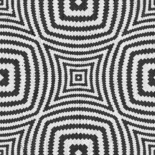 Black Optical Circles Wallpaper