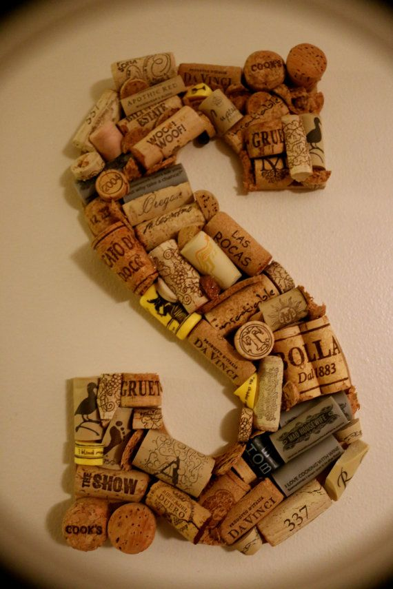 Bouchon de vin initiale  personnalisé