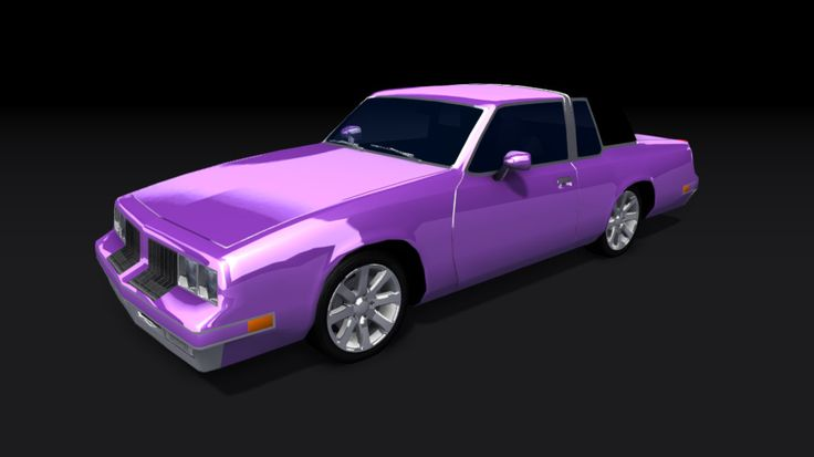 Oldsmobile Cutlass Supreme 1984 3D Max - 3D Model
