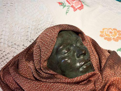 Frida Kahlo's death mask