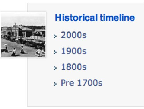 Important dates in history in Brisbane
