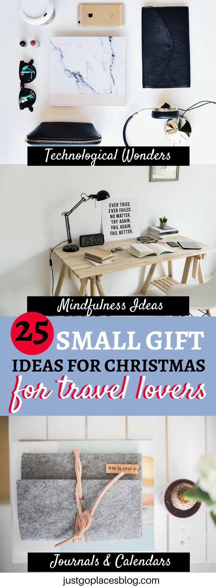 Christmas Season is coming and here's a list of the Top 25 Gift Ideas for Travel Loving Families and Friends!!! Christmas Ideas for Gifts | Christmas Gift Ideas | Christmas Travel Ideas #ChristmasIdeas #ChristmasGifts #ChristmasTravel via @justgoplaces