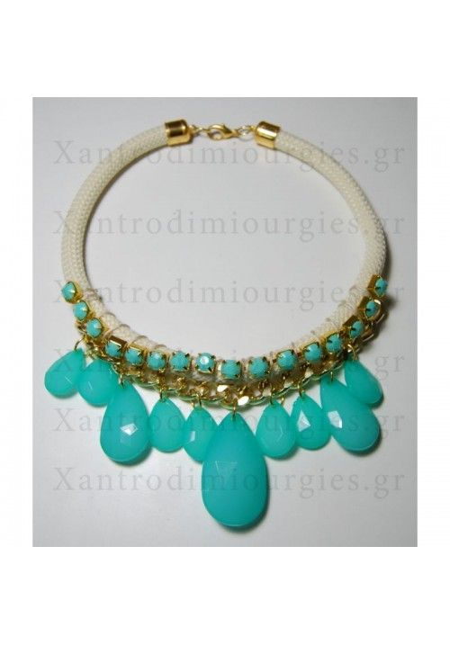 Turquoise Drop Chain Connection