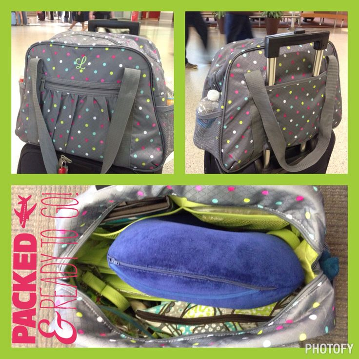 Thirty-One Gifts All-in Tote is perfect as a carry on ...