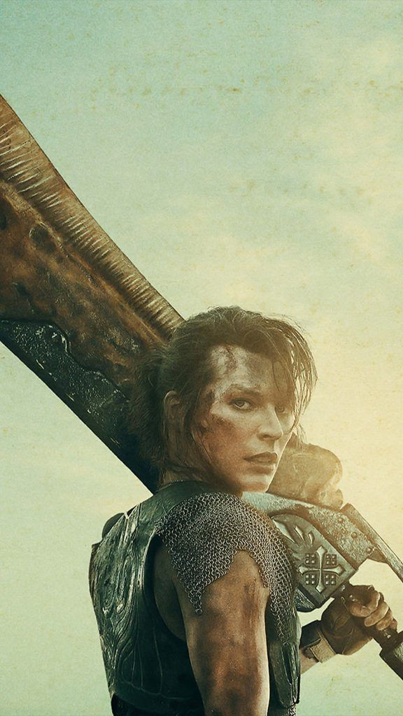 Milla Jovovich In Monster Hunter 2020 4k Ultra Hd Mobile Wallpaper In 2020 Milla Jovovich Monster Hunter Movie Wallpapers