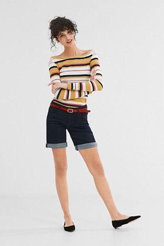 EDC / Pohodové džínové šortky se strečem