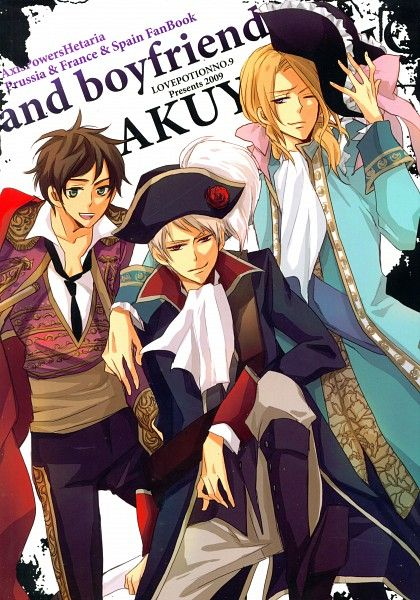 Hetalia Bad Touch Trio Yeah. Obsessed here.