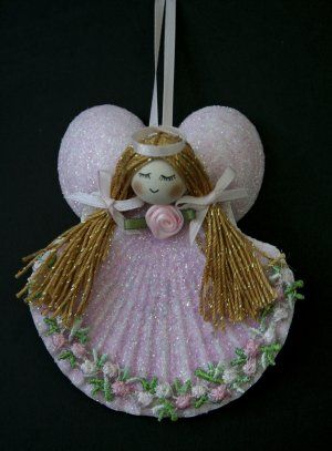 Seashell Angel Ornaments | advanced search categories seashell angel ornaments 26