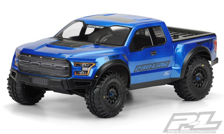 Introducing one of the most anticipated Truck bodies of all time: the all-new 2017 Ford® F-150 Raptor True Scale truck body for Short Course! This body completely transforms your PRO-2, Slash®, or SC10 Short Course Truck into a True Scale Lifted Truck. If you are a Raptor fan, then this is the body for you! Be the envy of your friends.. Get your Pro-Line 2017 Ford® F-150 Raptor True-Scale body today! #prolineracing #fordtough Mfg part number 3461