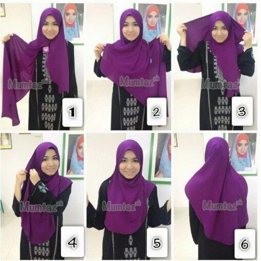Wide shawl, tutorial, sewing