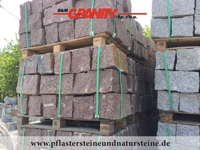 Rote Mauersteine aus skandinavischem Naturstein - Vanga