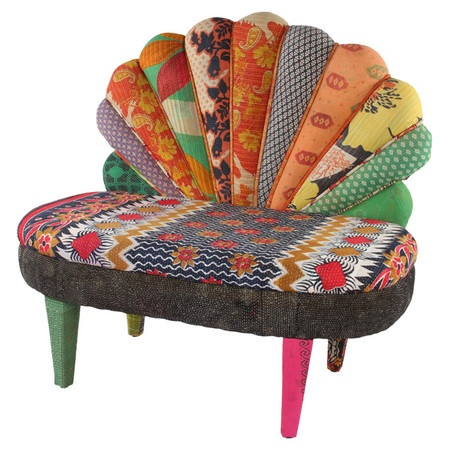 #Fall #Autumn #Trending #2013 Upholstery that grabs attention. Clever clash of pattern and lively vibe.