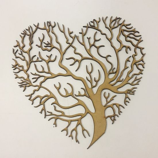 Heart tree template laser cut online store, free vector designs every day.