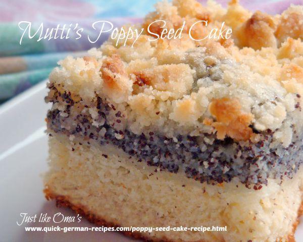 Traditional English Seed Cake Recipe